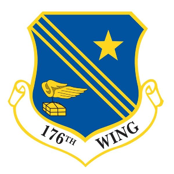 176th WING Patch