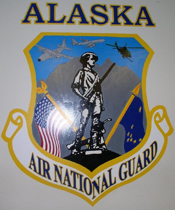 Alaska Air National Guard Patch